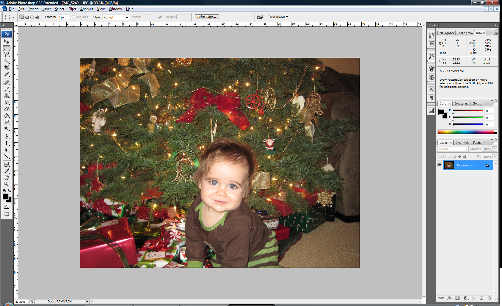 how to move a portion of image in photoshop